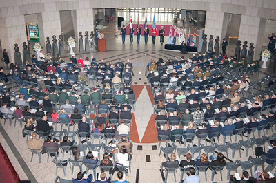 Anzac Day dawn service was held at the the National War Memorial Museum in Seoul. (Photo: Na JooAhn)